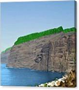 Los Gigantes Tenerife Spain Canvas Print