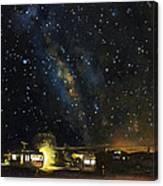 Los Rancheros Rv Park Canvas Print