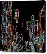 Losing Equilibrium - Abstract Art Canvas Print