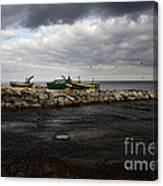 Lost Boats Canvas Print