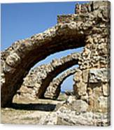 Lost City Of Salamis Cyprus  Canvas Print
