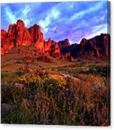Lost Dutchmans State Park Arizona Canvas Print