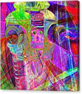 Lost In Abstract Space 20130611 Long Version Canvas Print