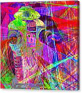 Lost In Abstract Space 20130611 Canvas Print