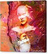 Lost In Art Canvas Print