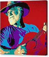 Jack Pop Art Canvas Print