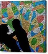 One Kiss Canvas Print