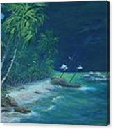 Lost Island Canvas Print