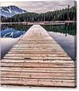 Lost Lake Dock Canvas Print
