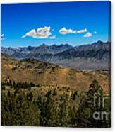 Lost River Mountains Canvas Print