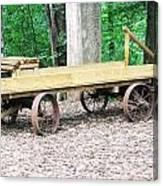 Lost Sea's Old Wagon Canvas Print