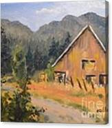Lost Valley Barn Canvas Print