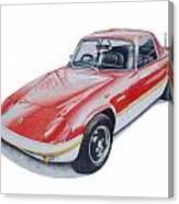 Lotus Elan Sprint Canvas Print