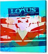 Lotus F1 Racing Canvas Print
