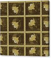 Lotus In 16 Bits Canvas Print