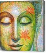 Lotus Meditation Buddha Canvas Print