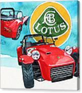 Lotus Seven Canvas Print