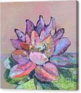 Lotus V Canvas Print
