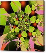Loud Bouquet Canvas Print