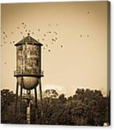 Loudon Water Tower Canvas Print