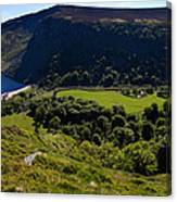 Lough Tay Below Luggala Mountain Canvas Print