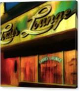 Louie's Lounge Canvas Print
