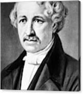 Louis Daguerre (1789-1751) Canvas Print