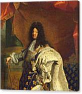 Louis Xiv In Royal Costume, 1701 Oil On Canvas Detail Of 59867 Canvas Print