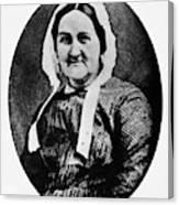 Louisa Whitman (d Canvas Print