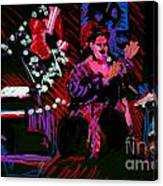 Louise At Jazz Corner Canvas Print