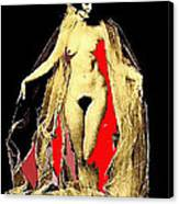 Louise Brooks Nude Circa 1928 Canvas Print