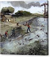 Louisiana Broken Levee Canvas Print
