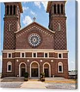 Louisiana Church Canvas Print