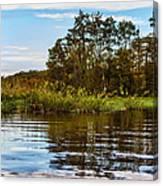 Louisiana Lake Canvas Print