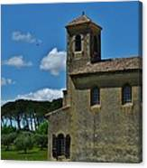 Lourmarin Castle Canvas Print