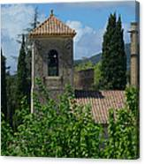 Lourmarin Castle In Provence Canvas Print