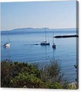 Loutsi Bay 5 Canvas Print