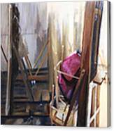 Louvre Closet Canvas Print