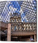 Louvre Museum Paris France Canvas Print