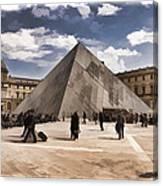 Louvre Museum - Paris Canvas Print
