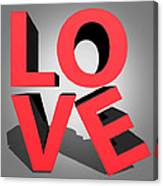 Love 2 Canvas Print