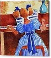 Love A Piano 3 Canvas Print