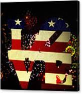 Love American Style Canvas Print