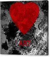Love Art 1 Canvas Print