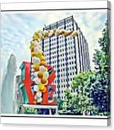 Love Balloons Canvas Print