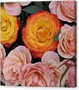 Love Bouquet Canvas Print