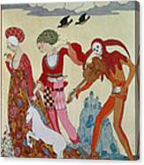 Love Desire And Death Canvas Print