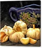 Love For Garlic Canvas Print