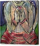 Love For Hanuman Canvas Print