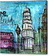 Love For London Canvas Print